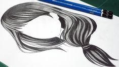 How To Draw Anime Hair Girl Long Anime Drawing For Beginners #hairstyles #animehair