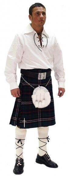 Instock Casual Kilt Outfit