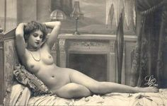 1920s vintage french postcard