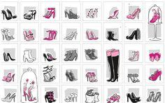 """la scarpiera della Spora.   E voi, come le tenete le vostre scrapine?    """"Tacco 12"""" un libro di Veronica Benini con le illustrazioni di Sara Menetti. Sperling & Kupfer."""