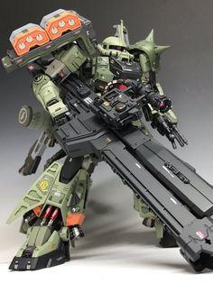 www.pointnet.com.hk - 型到爆!!!日本玩家改裝模型 1/100 渣古 MS-06RG ghost ZAKU