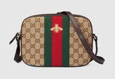 Gucci Bee Web Shoulder Bag