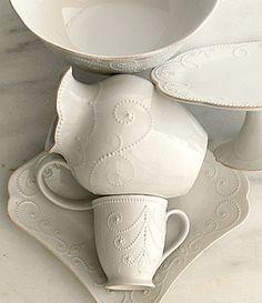 Lenox French Perle White Dinnerware #Dillards