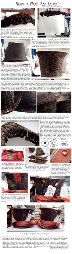 How to Make a Mad Hatter Part 2 by Elemental-Sight.deviantart.com on @deviantART