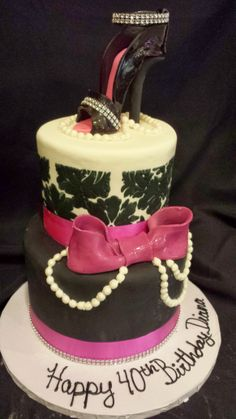 Short North Piece Of Cake   Columbus, Ohio   Sophisticated Shoe Cake
