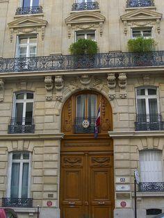 Demeure de Marcel Proust - 45, rue de Courcelles (Paris VIIIème) de 1900 à 1906 Marcel Proust, Swann's Way, Paris France, Illustration, Mansions, Raymond Chandler, House Styles, World, Places