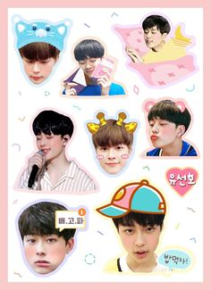 Printable Stickers, Cute Stickers, Yoo Seonho, Ikon Junhoe, Korea, Doodles, Kawaii, Bts, Fan Art