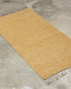 A decorative yet elegant rug. This design works well both in a larger size in the living room, as well as a narrow version in the hallway or by the bed. Handmade Rugs, Natural Materials, Larger, Living Room, Elegant, Bed, Design, Decor, Classy