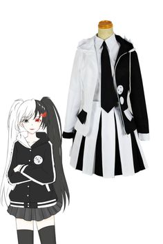 Danganronpa 2 The End Of Hope College The Cold Blooded Monokuma Cosplay Costumes Easy Cosplay, Anime Cosplay Costumes, Cosplay Characters, Cosplay Dress, Cosplay Outfits, Anime Outfits, Mode Outfits, Girl Outfits, Fashion Outfits