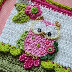 Owl purse crochet by VendulkaM