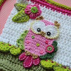 Owl purse crochet by VendulkaM