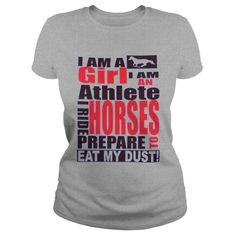 T Shirt With Horse I Am A Girl I Am An Athelete I Ride Horse #alice #madness #returns #t-shirt #hobby #horse #horse #isle #t #shirt #puzzle #icelandic #horse #t #shirt #t #shirt #neil #young #crazy #horse