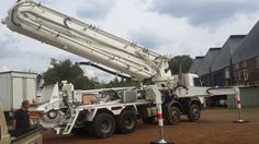 #TRUEMAX# Truck-mounted Boom Pump #used in South Afirca