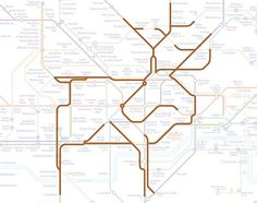 Caledonian Road the Reindeer.   22 Animals Who've Been Hiding Out In The London Underground Map