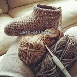 Patroon warme sokken (gratis)