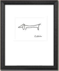 Picasso's Sausage Dog