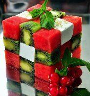 Un rubik's cube fruité - Cosmopolitan.fr
