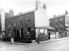 old photos of fenton street/hillary street leeds Leeds City, Industrial Architecture, Masons, Stoke On Trent, Good Old, North West, Old Photos, Terrace, Shops