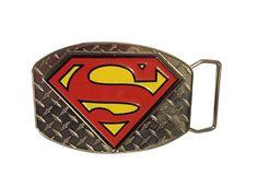Superman Bizarro Spinner Enamel Finish Metal Belt Buckle DC Comics Licensed Rare #DCComics #Novelty