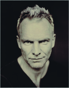 Sting by Paolo Roversi