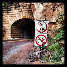 Zion NP, Utah - end of the road for me.
