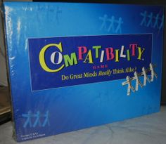 Compatibility Game : Strategy Board Game : Toys & Games