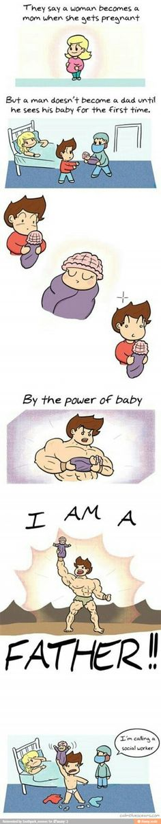 Becoming a father / iFunny :)