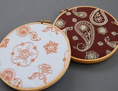 paisley embroidery pattern