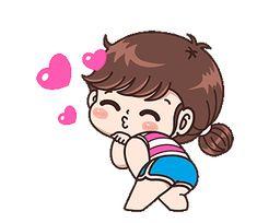 Cute Chibi Couple, Love Cartoon Couple, Girl Cartoon, Cartoon Gifs, Cute Cartoon Wallpapers, Gif Lindos, Cute Cartoon Pictures, Cute Love Gif, Cute Love Cartoons