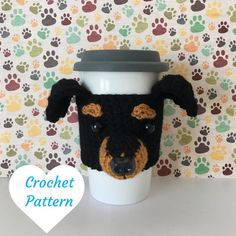 Dog Crochet Pattern - Crochet Min Pin - Amigurumi Patterns - Amigurumi Pattern - Crochet Pattern Dog - Crochet Dog Pattern - Amigurumi Dog by HookedbyAngel