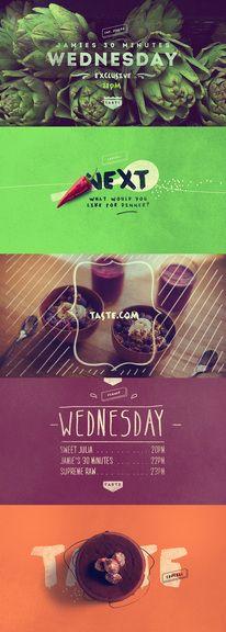 Good design makes me happy: Project Love: Foodology Branding — Designspiration