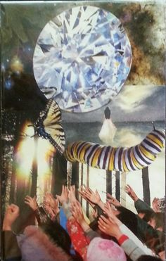 """Soul Essence"" Soul collage by Lacey Boles"