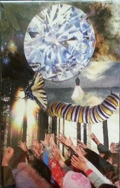 """Soul Essence"" Soul collage by Lacey Boles"