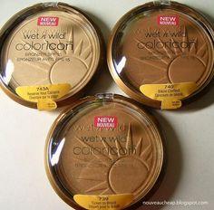 "Wet n Wild ColorIcon Bronzers for light-medium-dark skintones... I ♡ MINE IN ""TICKET TO BRAZIL"""