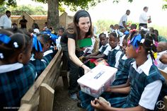 I'd love to be involved in helping to deliver OCC boxes to smiling faces like these someday :)
