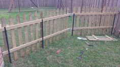 cheap dog fence idea 02