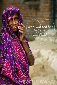 Unless someone tells her, how will she know that she is loved? This year, skip the chocolate and send the love— help a woman missionary share the love of Christ in honor of your loved one on Valentine's Day!