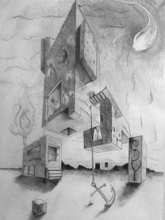 perspective drawing, surreal - Google Search