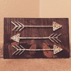 MADE TO ORDER  Arrows String Art by StringsbySamantha on Etsy
