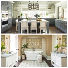 Happy National #KitchenandBath Month! We're celebrating with Wellborn Cabinet, Inc., a company that fulfills cabinetry needs for your kitchen, bathroom, and every other space in your home! To schedule a design consultation call 727.321.5588.
