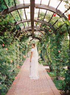 Thanksgiving Point - Reception Gardens Bridal Photos - Ciara Richardson