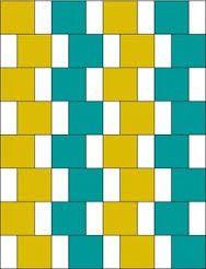 Image result for 3 color quilt pattern