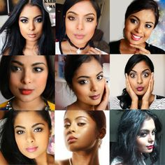The Biggest Collection Of 'Everyday Makeup' for School or Work! Perfect for Dark Tan Indian Skintone