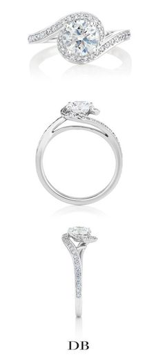 1342476eb726 Caress Diamond Engagement Ring