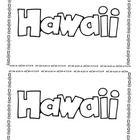hawaiian language coloring pages - photo#21