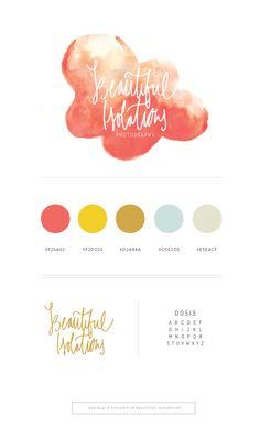 Brand Brief : Beautiful Isolations Photography   Eva Black Design