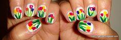 Accent nail design idea