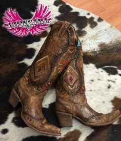 Aztec Love Boots - Cowgirl Clad Company - #CowgirlChic