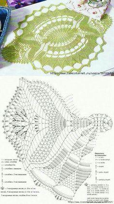 Unusual Lace: Really Nice. Crochet Mat, Crochet Doily Diagram, Crochet Dollies, Crochet Doily Patterns, Crochet Books, Crochet Home, Thread Crochet, Filet Crochet, Crochet Designs