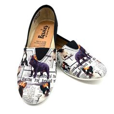 FRENCH BULLDOG SHOES, French Bulldog, shoes, dog breeds, Dog Lovers, slip ons, animal lovers, puppies, flat shoes, shoes for women, bulldog